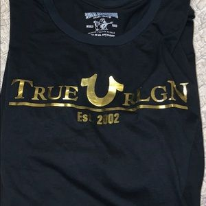 Black True Religion T-Shirt